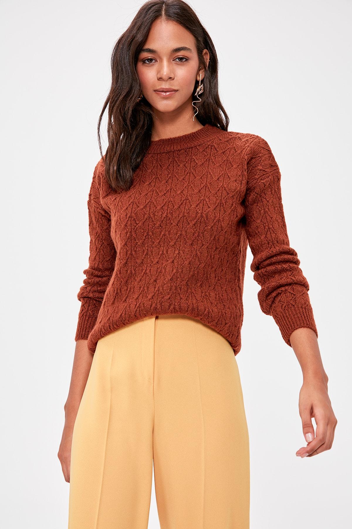 Trendyol Cellular Sweater TWOAW20KZ0837