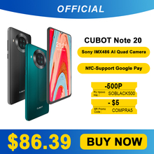 Cubot 20 Rear-Quad-Camera Google 64GB 3GB WCDMA/LTE/GSM NFC Mcharge Quad Core Face Recognition