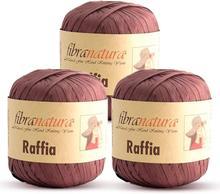 Fibra Natura Raffia Фибра пряжа из рафии 22 Цвета 100% целлюлозы натуральное соломенное Бумага лента соломенная ботвы вискозы с лентой и кружевом, Одеж...