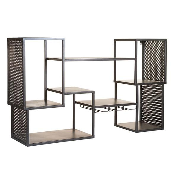 Shelves Industrial (100 X 25 X 60 Cm) Iron