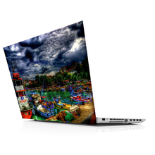 Sticker Master City And Marina universal laptop skin for 13 14 15 15.6 16 17 19