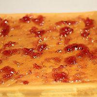 """#美食说出""""新年好""""#蓝莓果酱香橙蛋糕卷的做法图解17"""
