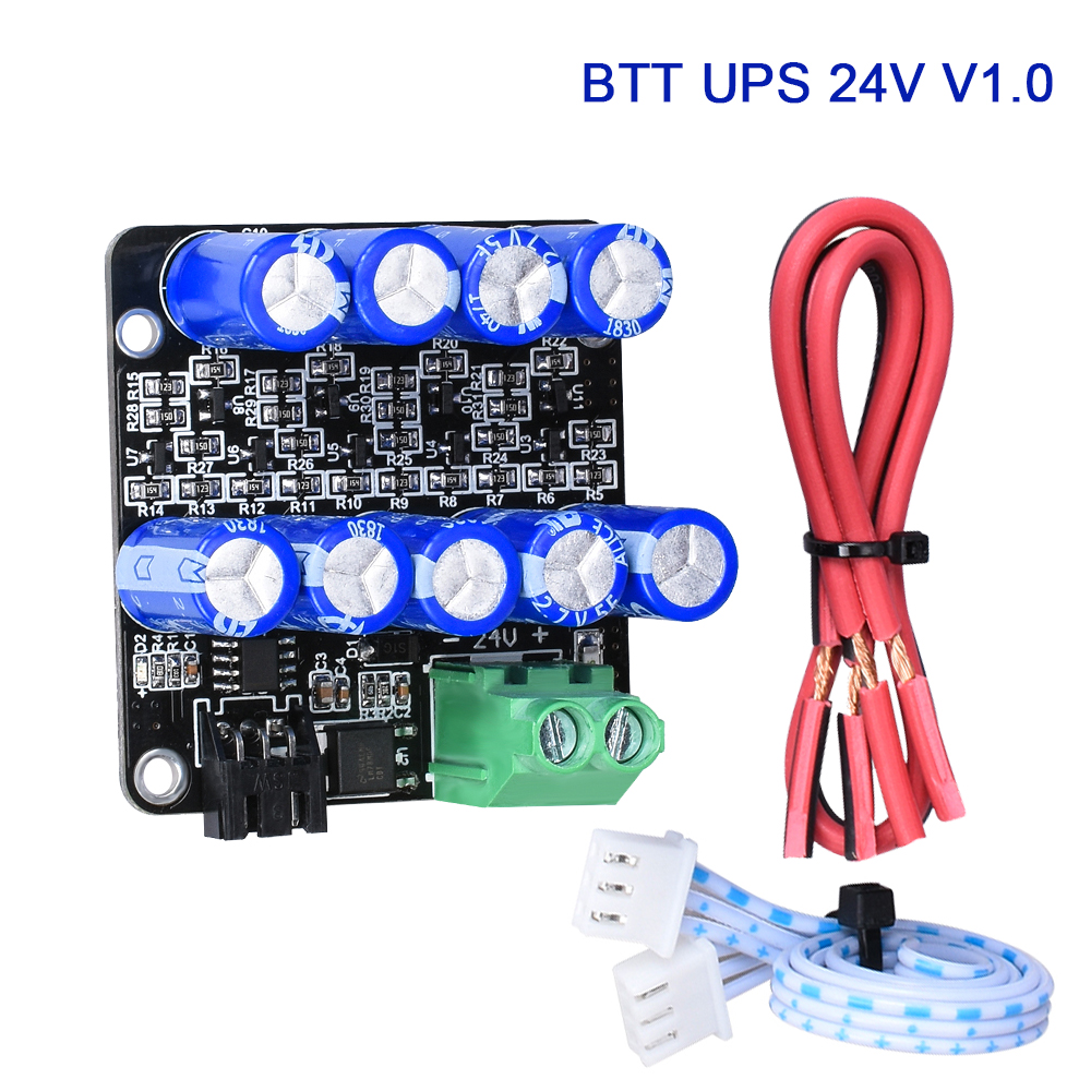 BIGTREETECH BTT UPS 24V V1 0 Module Resume Printing While Power Off With Cable Sensor Auto 3D Printer Board SKR V1 3 E3 Ender3