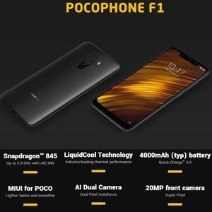 Image 4 - Глобальная версия Pocophone F1 128 GB rom 6 ГБ ram (абсолютно новая/запечатанная) Мобильный смартфон, телефон, смартфон