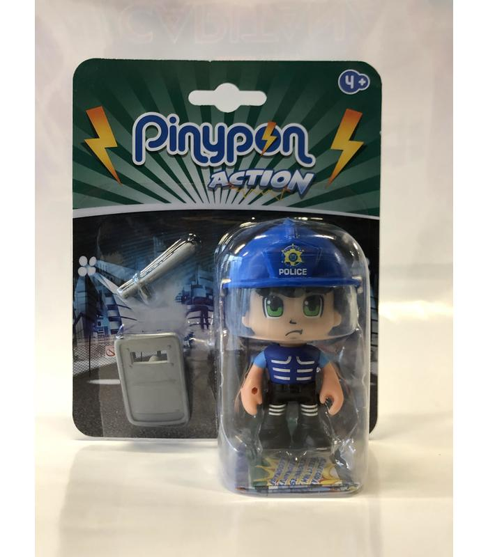 Figure Pinypon Action Police Riot Toy Store Articles Created Handbook