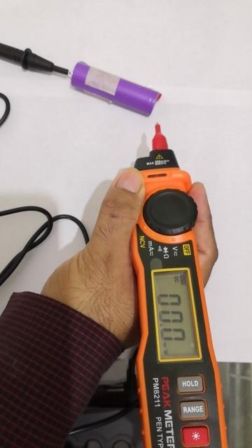 -- Multímetro Contato Peakmeter