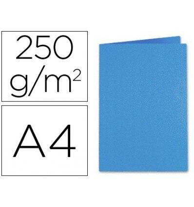 SUB-FOLDER CARDBOARD EXACOMPTA DIN A4 DARK BLUE 220 GR 100 Units