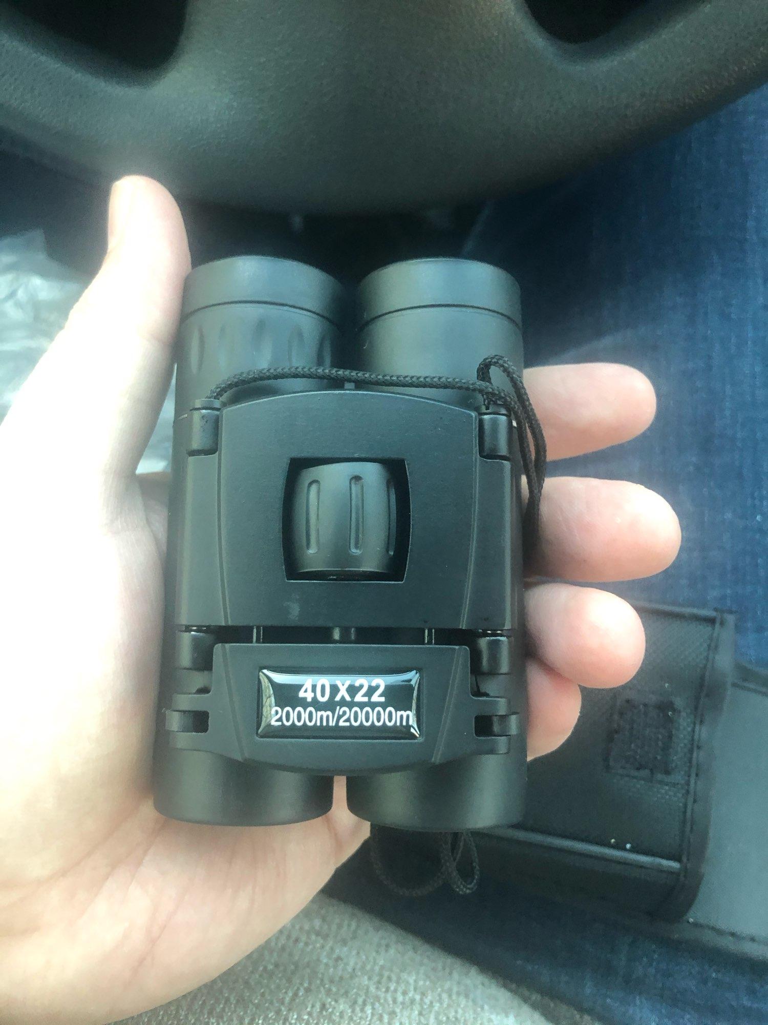 40X22 Powerful 2000M Distance Folding Mini Telescope photo review