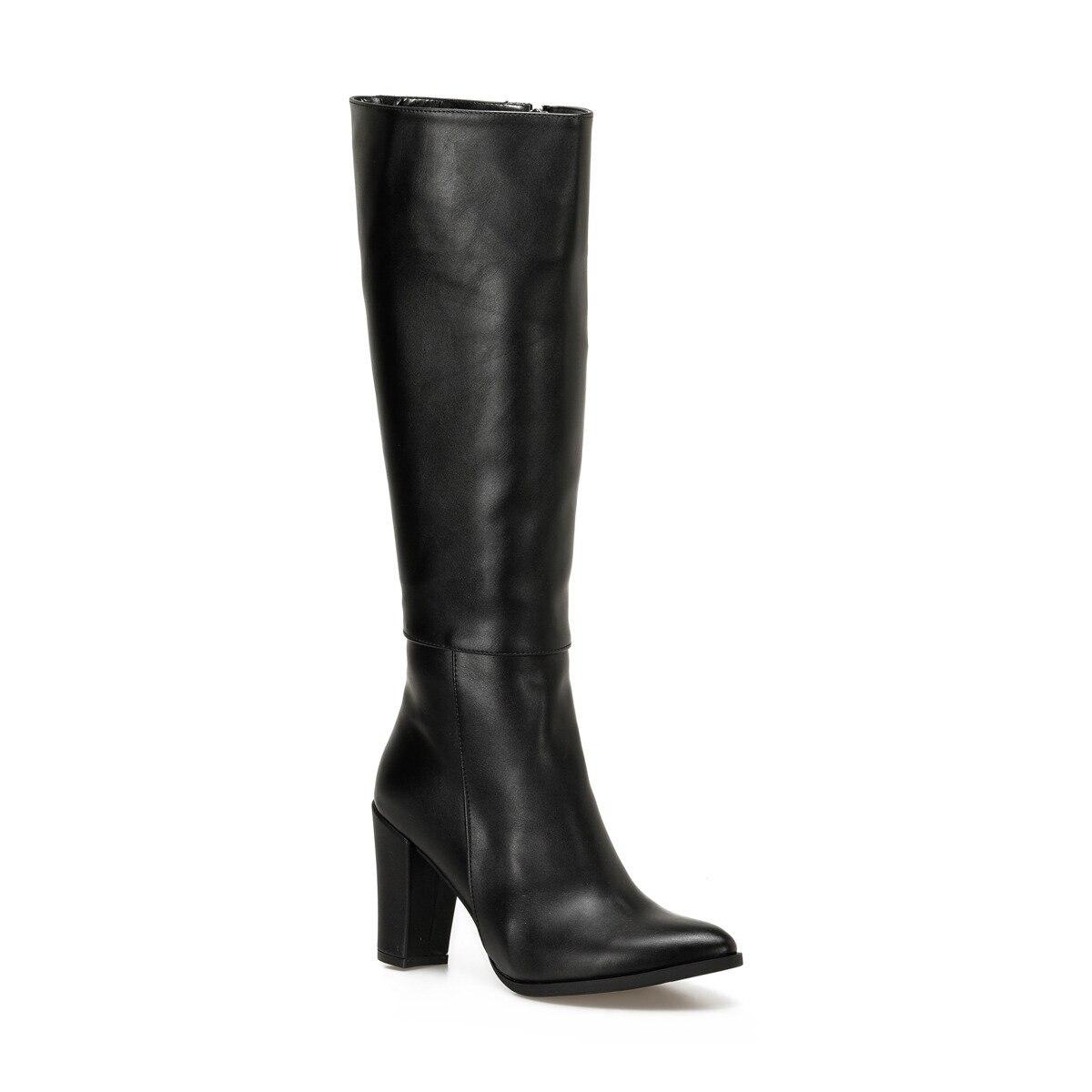 FLO 19SF-2092 أحذية نسائية سوداء بوتيجو
