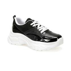 FLO ESLEM85Z кожа черные женские кроссовки обувь BUTIGO