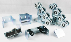 KIT5 ensembles de roues en porte-à-faux   Accessoires de porte autimotion robustes, porte coulissante en porte-à-faux, porte sans piste, 600kg