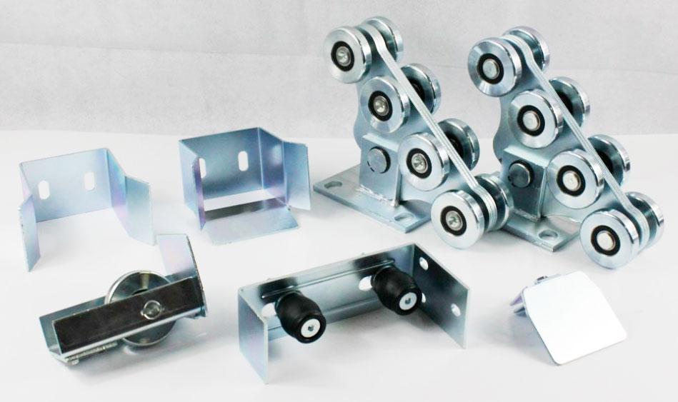 KIT5 Heavy Duty Autimotion Gate Accessories Cantilever Gate Roller Sets Cantilever Sliding Gate Set Gate 600kg Without Track