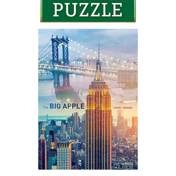 Trefl 1000 Piece New York Dawn Puzzle dawn miller a new dawn