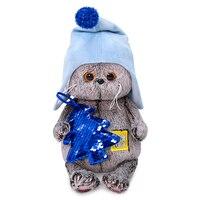 Basik Basik baby Budi Basa with ёлочкой 20 cm stuffed toy game gift surprise plush in шапочке