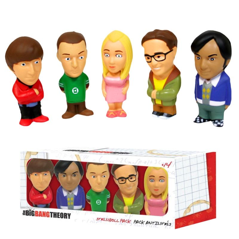 SD giocattoli Big Bang Theory Lo Stress Doll Set di 5
