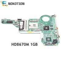 NOKOTION 713258-001 713258-501 Laptop motherboard Para HP Pavilion 14-E 15-E 15-E028TX DA0R62MB6E0 HM76 HD8670M 1GB placa Principal