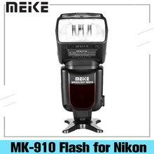 Meike MK-910 mk910 i-ttl 1/8000s hss sync master & slave flash speedlight para nikon SB-910 SB-900 d7500 d750 d600 dslr