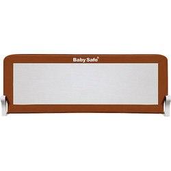 Barriere für Baby krippe Sicher 120х42, Braun