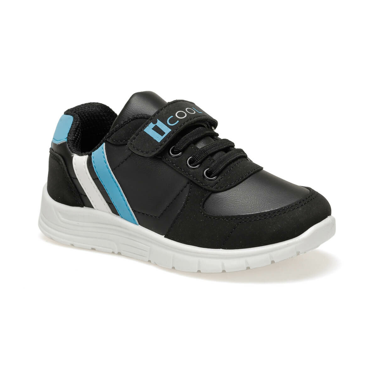 FLO DEMBA.2 Black Male Child Shoes I-Cool