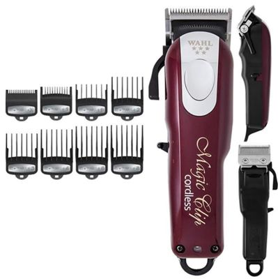 Wahl Professional 5-Star Cord/Cordless Magic Clip 8148 – Great For Barbers And Stylists – Run Time Cordless 90 Min, Hair Trimmer