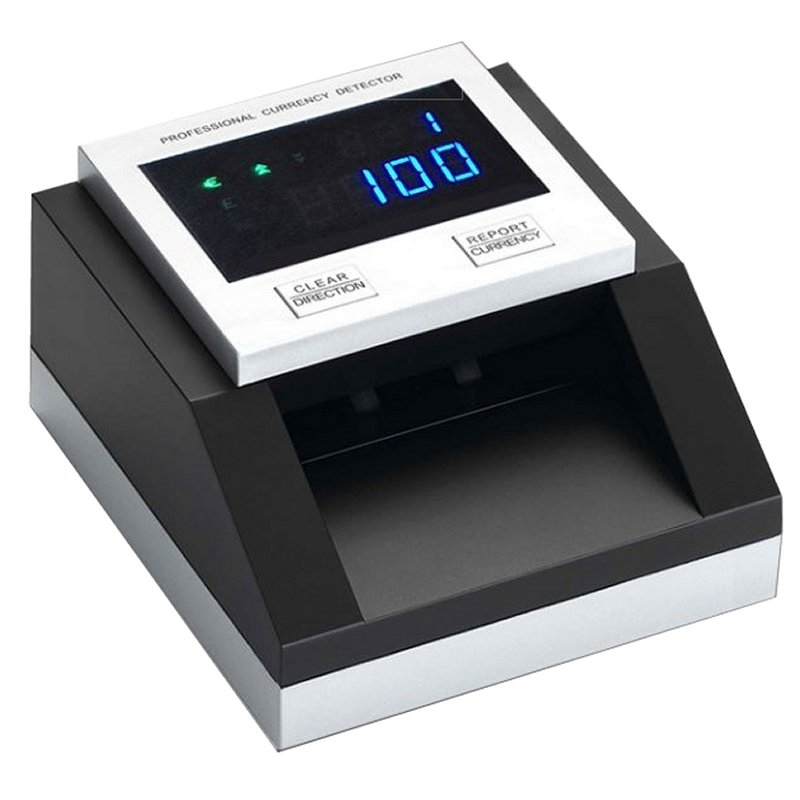Counterfeit Note Detector Mustek D8 2D Black