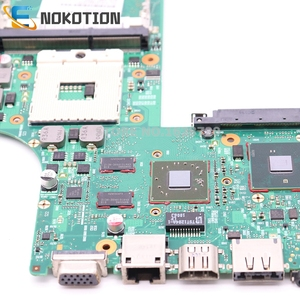 Image 3 - NOKOTION For Toshiba satellite L630 Laptop motherboard HD4500 HM55 DDR3 Free cpu 6050A2338501 MB A03 V000245110 1310A2338522