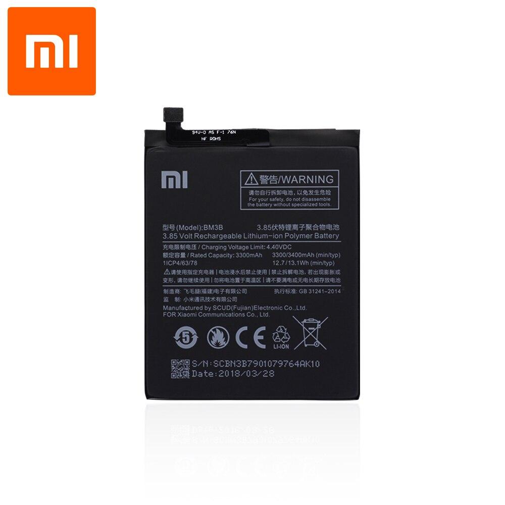 Оригинальный аккумулятор для смартфона Xiaomi Mi Mix 2 / Mix 2s (3,8 в, 3400 мАч, BM3B)