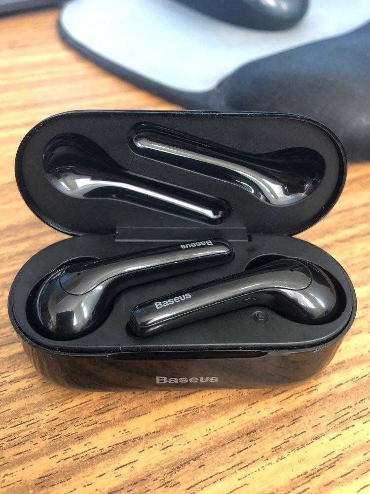 Baseus W07 Bluetooth Earphone TWS Wireless Bluetooth Earphone 3D Stereo Sports Wireless Earphones with Dual Noise reduction Mic Bluetooth Earphones & Headphones     - AliExpress