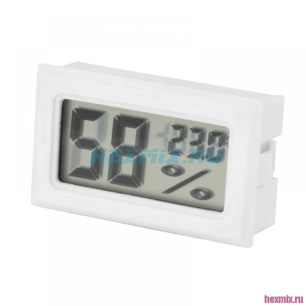 Mini Temperature And Humidity Meter (color-white)