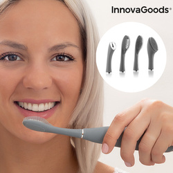 Silicone Sonic Toothbrush with Accessories Klinfor InnovaGoods