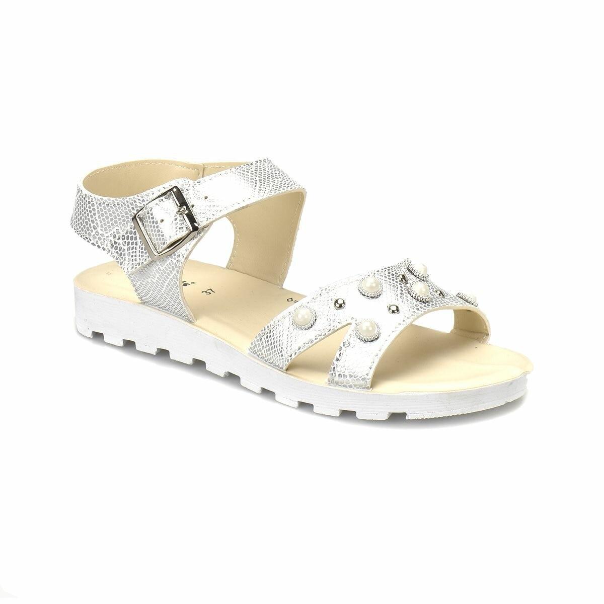 FLO 81.311702.Z White Women Sandals Polaris