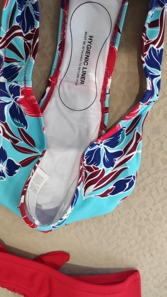 SEASELFIE Red and Floral Print Low Waisted Bikini Sets Swimsuit Women Sexy Bow knot Two Pieces Swimwear 2021 Beach Bathing Suits|Bikini Set|   - AliExpress