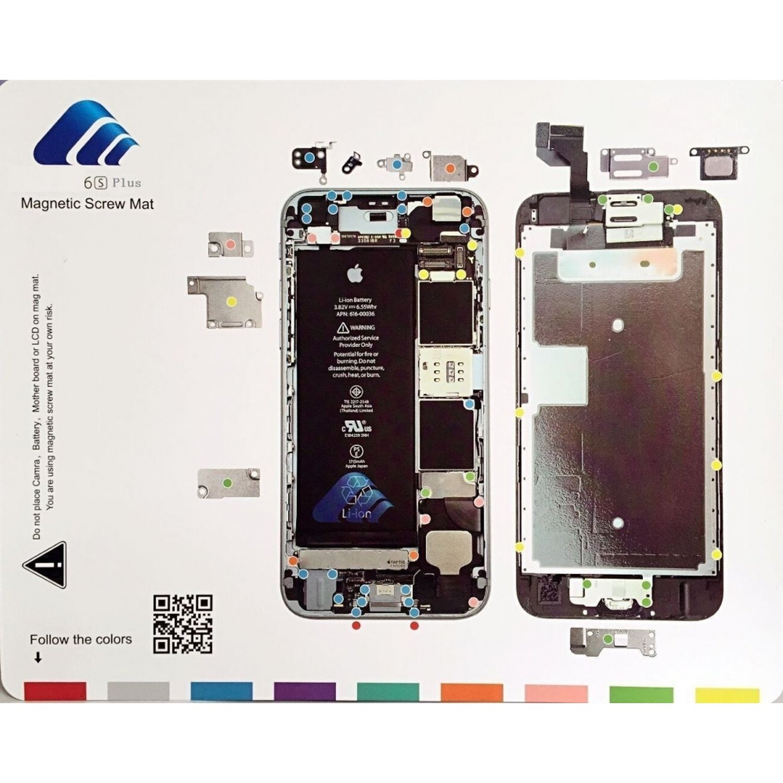 Magnetic Blackboard For Organize Screws IPhone 7