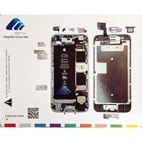 Quadro-negro magnético para organizar parafusos iphone 7 plus