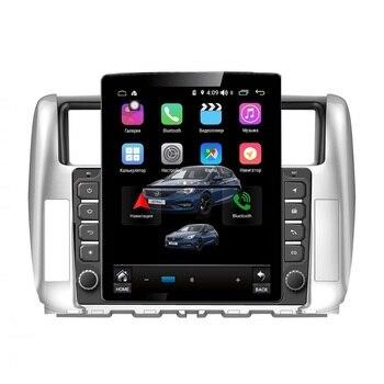 Car Radio Tesla style for Toyota Land Cruiser Prado 150 2009-2013