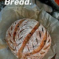 无油燕麦果干乡村面包的做法图解9