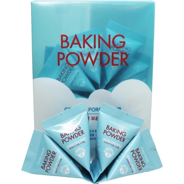 Etude House face scrub baking powder crunch pore scrub for narrowing the pore with содой 7G 24 PCs|Cleansers| - AliExpress
