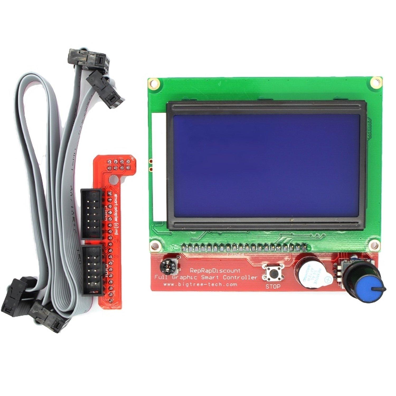 3D Printer RepRap RAMPS LCD LCD Controller/SD Panel rumba motherboard drv8825 a4988 stepper motor driver 12864 lcd display 4015 fan jumper wire for reprap 3d printer parts