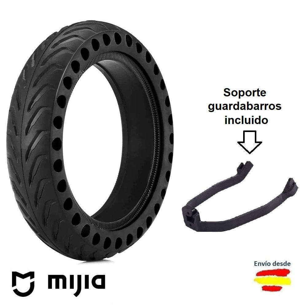 Xiaomi Scooter M365 and M365 Pro 8.5 inch anti-puncture solid wheel + support booster mudguard for Scooter
