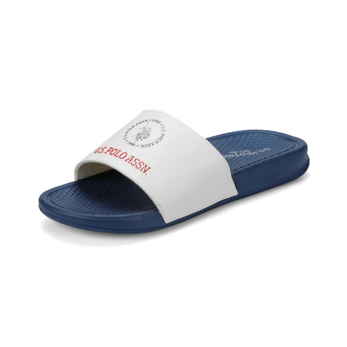 FLO PEARL White Male Slippers U.S. POLO ASSN.