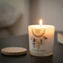 Свеча с ароматом мандалы Ловец снов