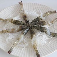 花式蒜蓉粉丝蒸虾的做法图解8