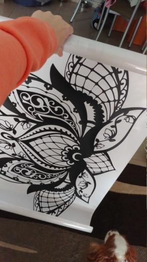 -- adesivos parede lotous