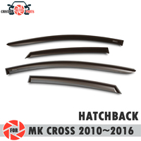 Window deflector for Geely Emgrand MK Cross 2010~2016 rain deflector dirt protection car styling decoration accessories