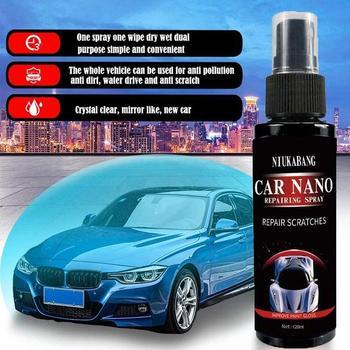 50ML 100ML 120ml Crystal Ceramic Car Coating Paint Care Nano Hydrophobic Coating Waterproof High Gloss Shine Liquid Polish Wax