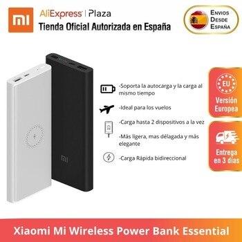 Original Xiaomi Mi Wireless Power Bank Essential 10000mAH Tipo C USB Cargador Inalámbrico Rápido B