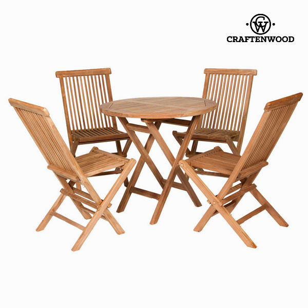 Table Set With 4 Chairs