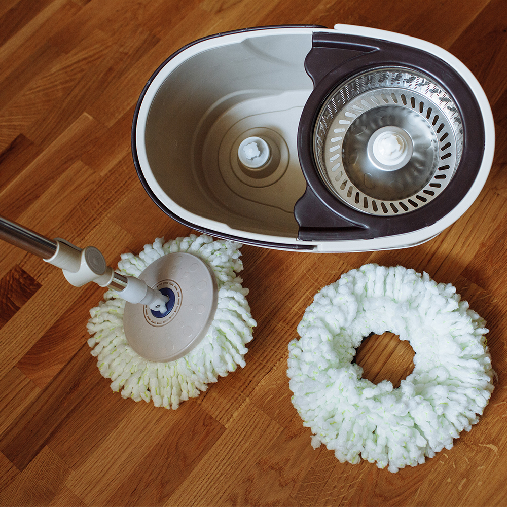 Lazy Floor Mop With Spin Noozle For Cleaning House Cleaning Home