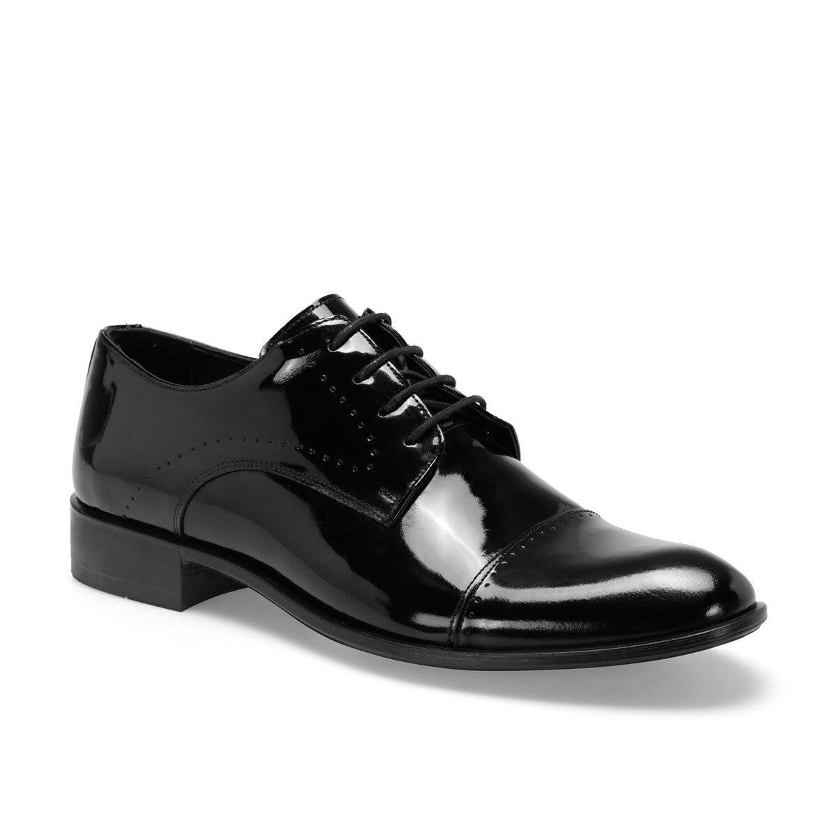 FLO 1776 C Black Male Maskaret Shoes Garamond