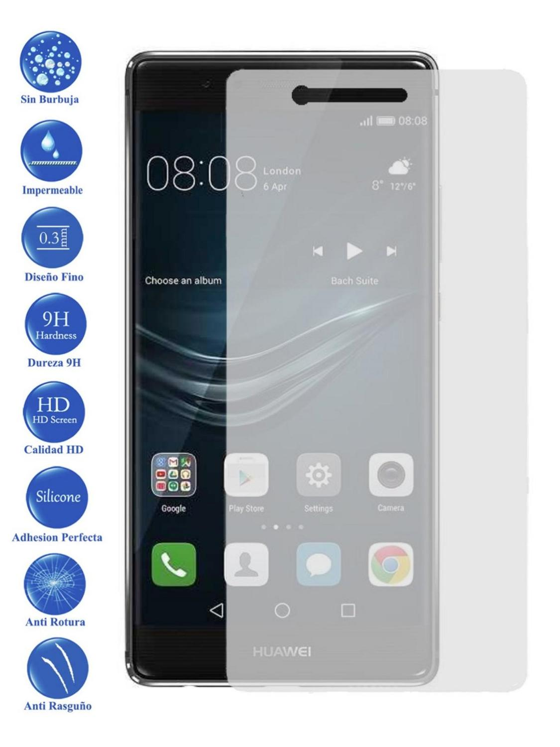LCD Cover Screen Protector Tempered Glass For Huawei P6 P7 P8 P9 Lite Smart Lite Plus Choose Model